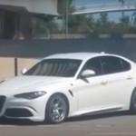 Седан Alfa Romeo Giulia покажут уже в самом ближайшем времени